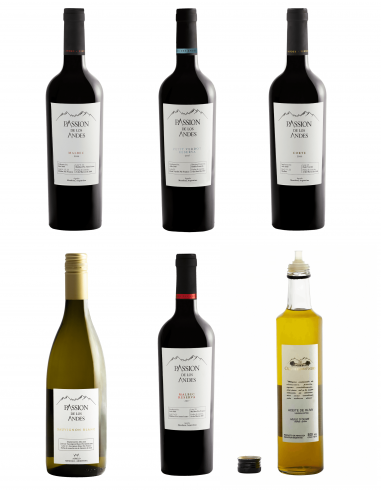 Discovery Pack (1) 5 wines + 1 olive oil